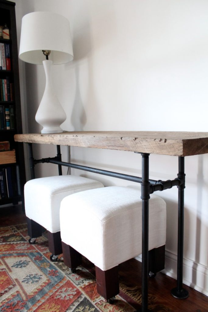 Rustic Design Console Table