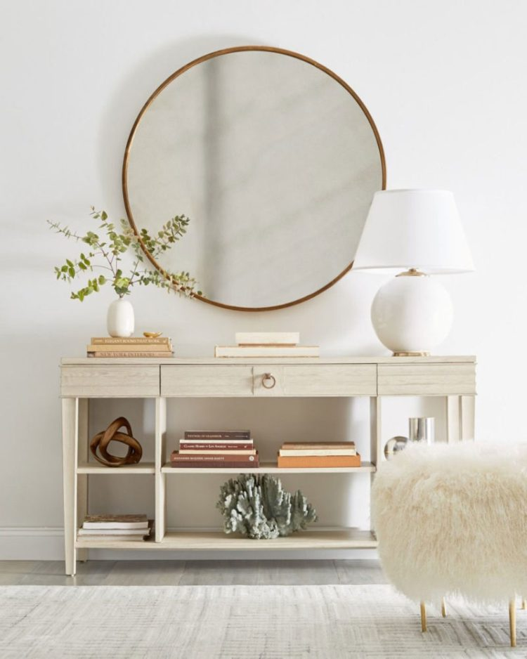 Entry Table Ideas with Mirror