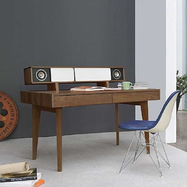 Computer Desk with Audio System