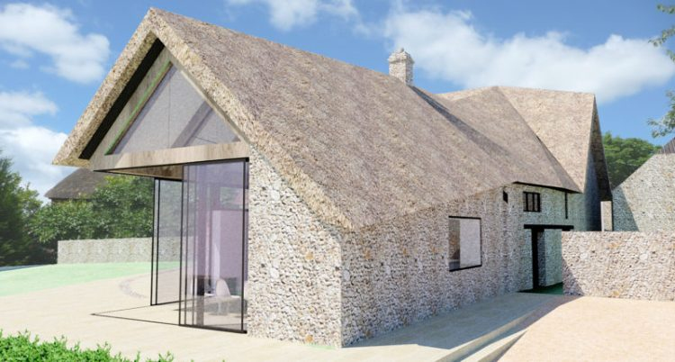 Thatched Roof Farmhouse