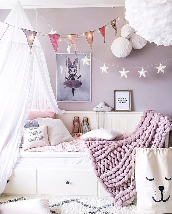 14 Girls Room Decor Ideas - Fun and Cute Style