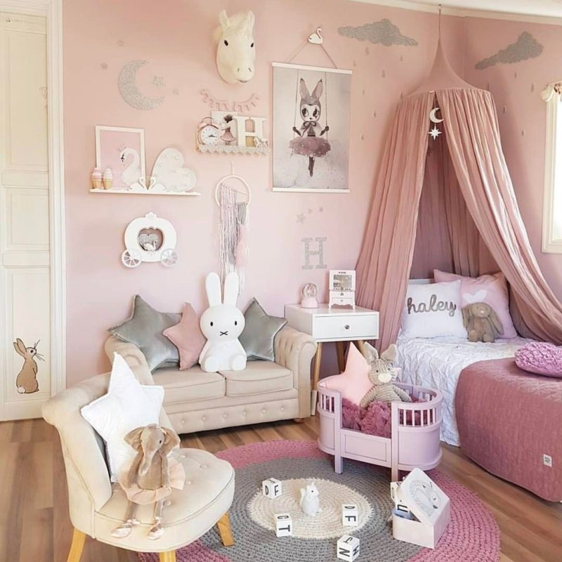 14 Girls Room Decor Ideas - Fun and Cute Style on Girls Room Decorations  id=91091