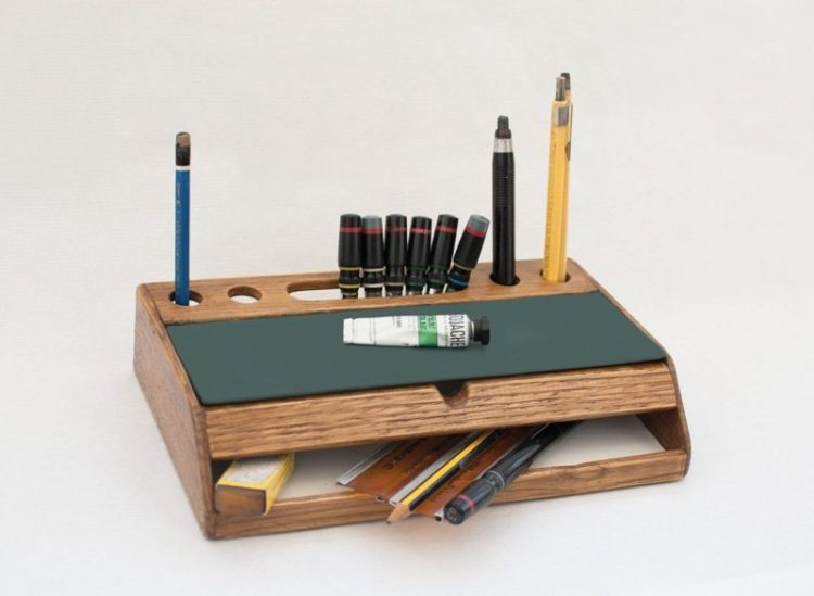 Rustic Desk Organizer