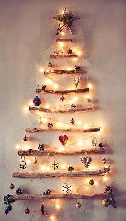 Try an Alternative Christmas Tree