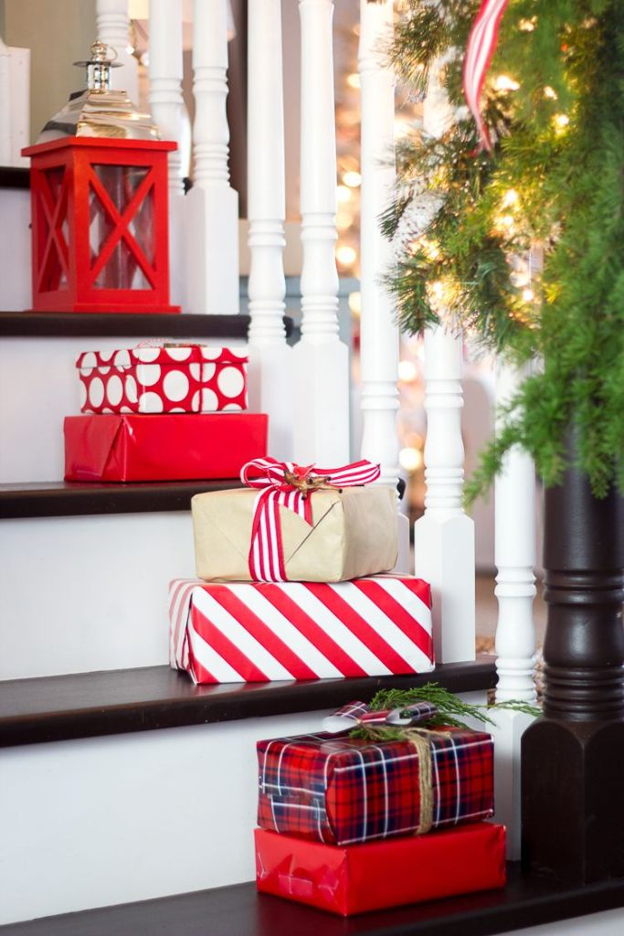 Use Presents as Decor