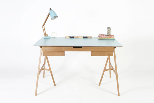 Natural Finish Desk