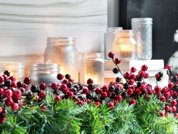 mercury magic for christmas home decor ideas