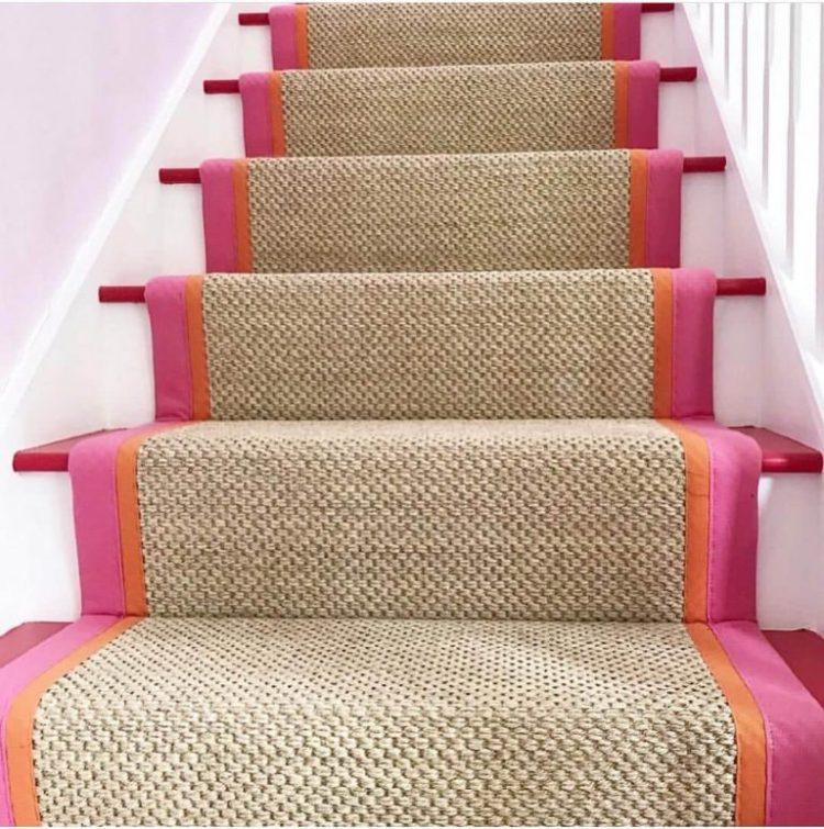 Modern stair runner