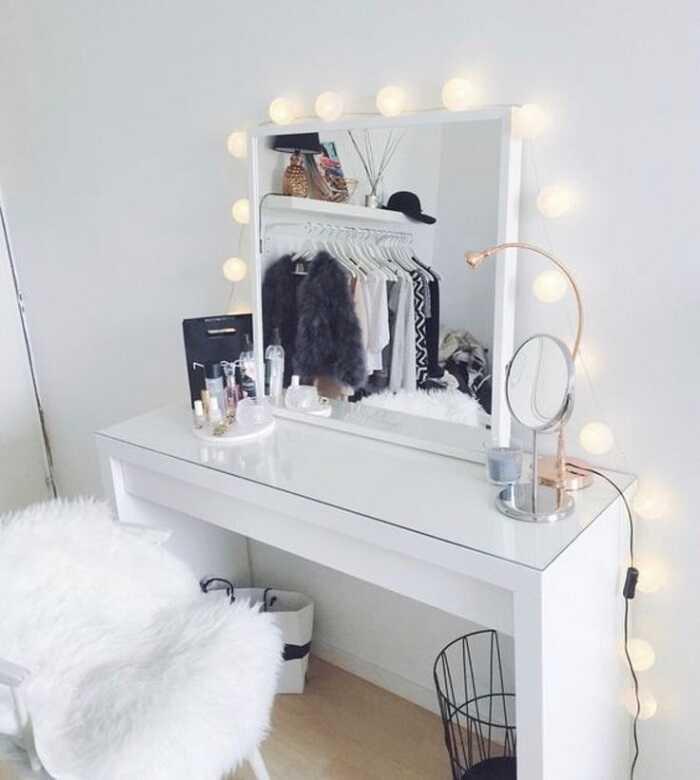 makeup mirror diy makeup desk ideas