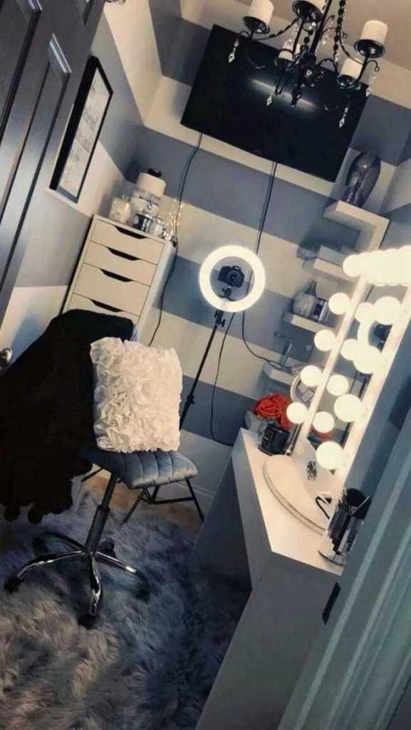 diy makeup room ideas with design inspiration