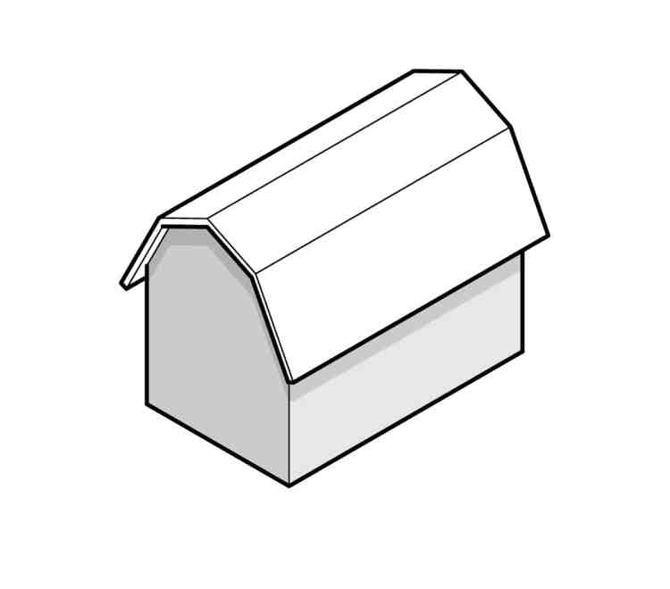 what is gambrel roof