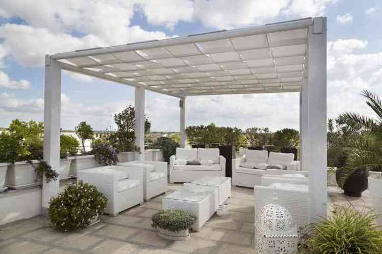 Trends in rooftop patio