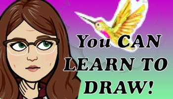 you can learn to draw