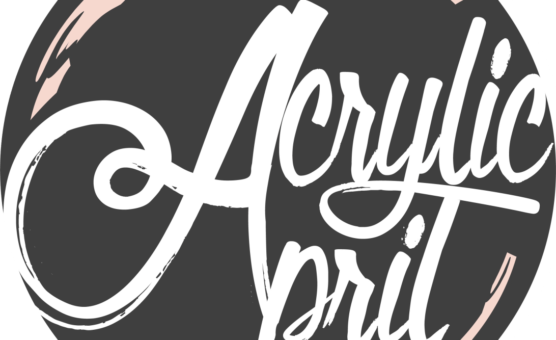 Acrylic April Logo