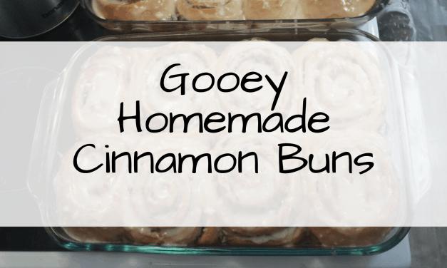 Gooey Cinnamon Buns