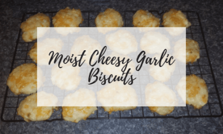 Moist Cheesy Garlic Biscuits