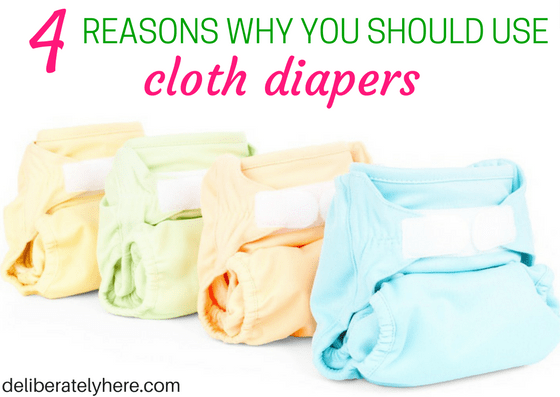 4 Main Reasons Why You Should Use Cloth Diapers For Your Baby