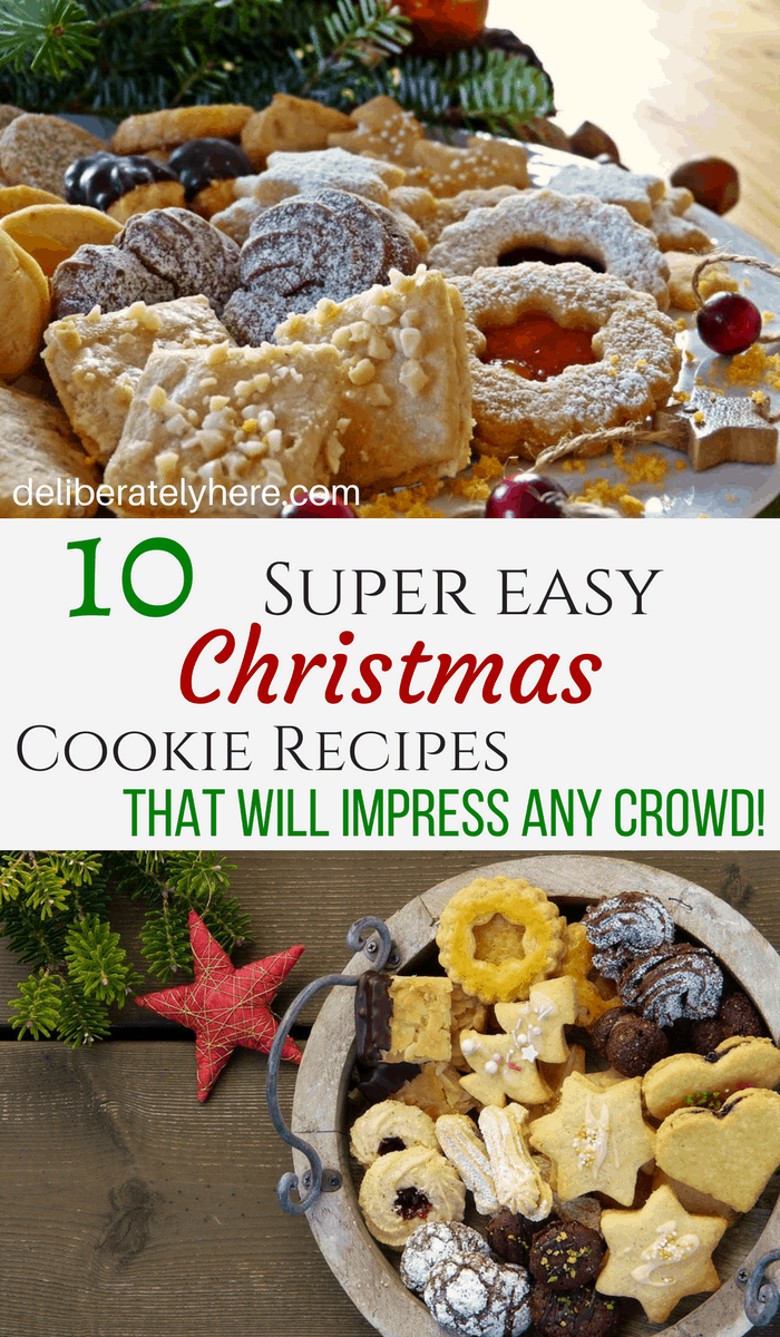10 Easy Christmas Cookie Recipes to Impress Any Crowd!