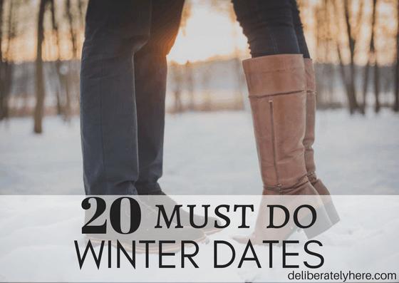 20 Must Do Winter Dates