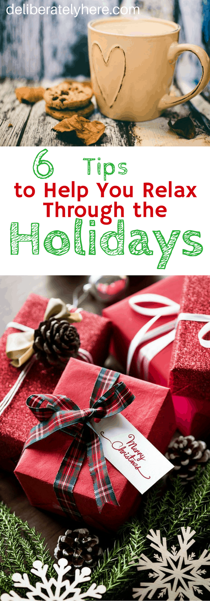 6 Tips to Help You Relax Through the Holidays