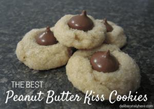 The Best Peanut Butter Kiss Cookie Recipe around