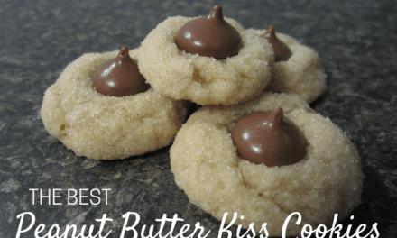 Peanut Butter Kiss Cookies