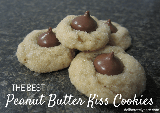 The Best Peanut Butter Kiss Cookie Recipe around