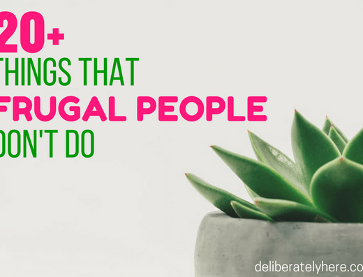 Habits of Highly Frugal People