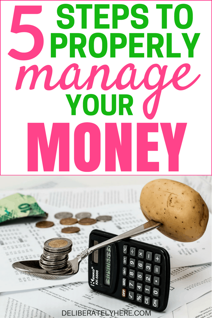 5 easy steps to good money management and how it will help you reach financial freedom