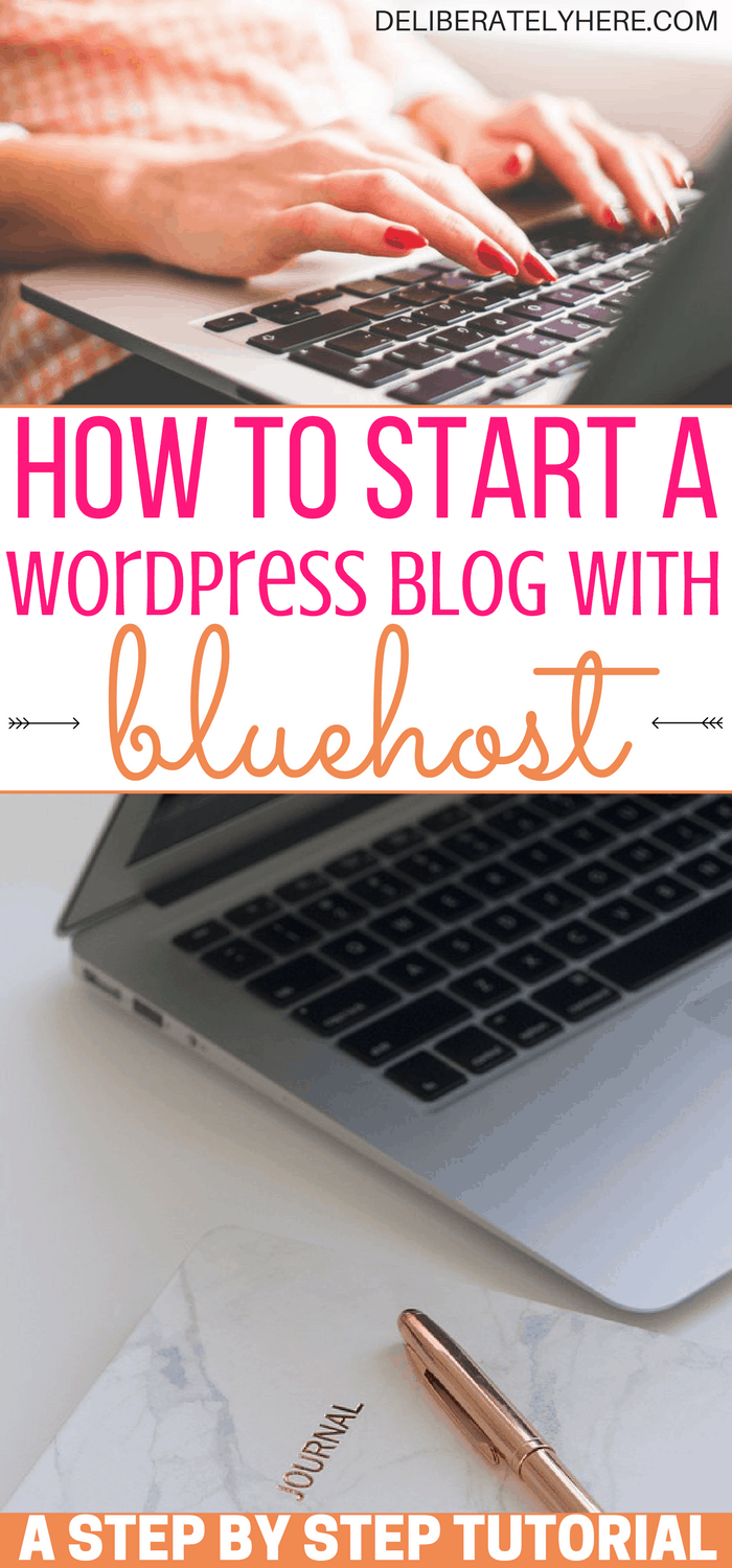 A Step by Step Tutorial on How to Start a WordPress Blog With Bluehost & Start Making Money From Home