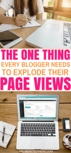 The One Thing You Need For Your Blog That Will Explode Your Page Views In Just Days