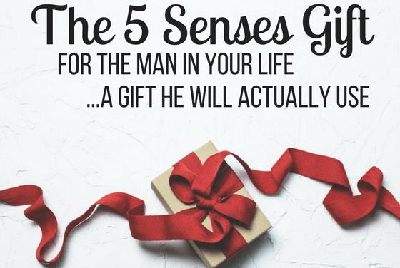 5 Senses Gift for Him