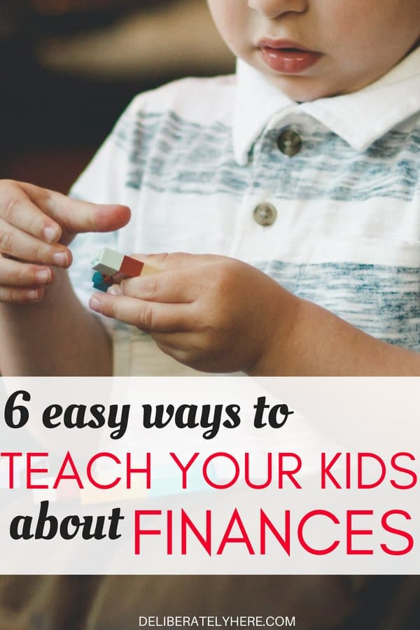 Easy ways to teach your kids about saving money. How to teach your kids about finances. Teach your kids to make smart financial decisions. Teach your kids by example to properly handle their money