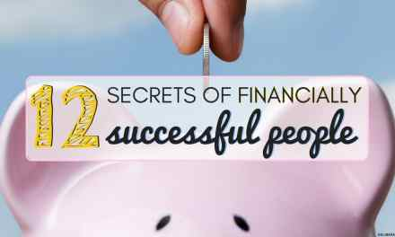 12 Secrets of Financially Successful People