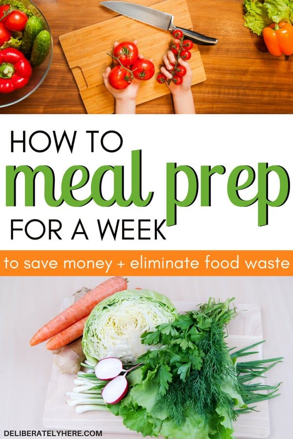 5 ways to meal prep for the week to save time and save money on groceries. Save money fast with this simple meal prep for beginners. Learn how to meal prep for a week for beginners and meal prep clean eating. Eat healthy and save money fast with meal prepping. Learn how to meal prep smart to save time and money with these easy meal prepping tips.