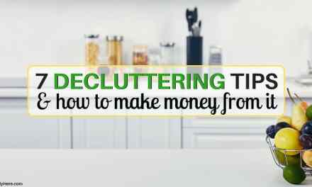 7 Decluttering Tips and How You Can Make Money From It