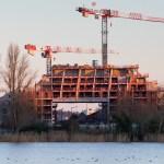 Îlot Queyries (Bordeaux) vue du chantier depuis la rive gauche © Ivan Mathie