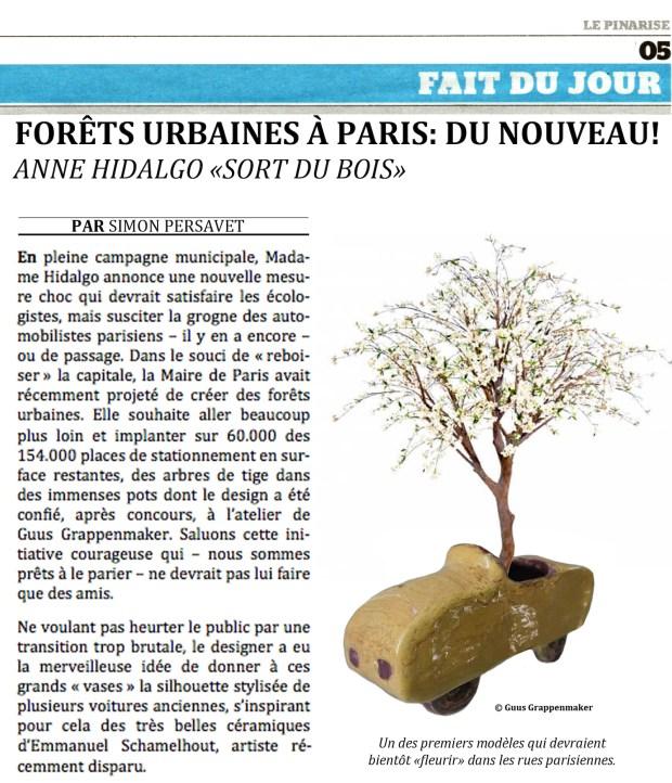 Forêts urbaines : la dernière mesure choc de Anne Hidalgo