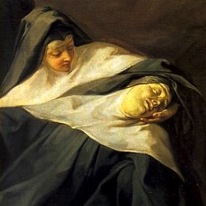 Jean Restout: La Mort de sainte Scolastique (détail)