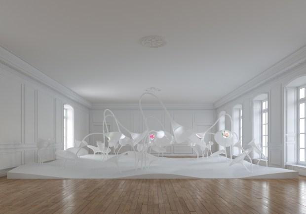 Le jardin des senteurs, Grand Musée du Parfum © Projectiles Arte Factory