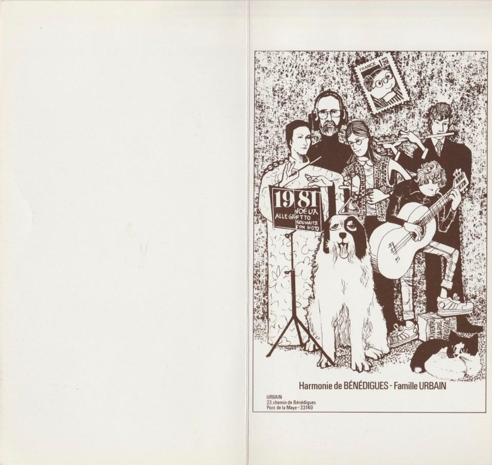 1981 - Les vœux des Z'Urbains