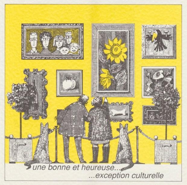 Les vœux des Z'Urbains – 1994 © Famille Urbain