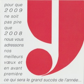2009 - Les Zurbains vous souhaitent une excellente nouvelle année © Famille urbain
