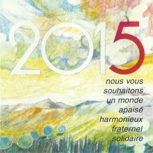 2015 - Les Zurbains vous souhaitent une excellente nouvelle année © Famille urbain