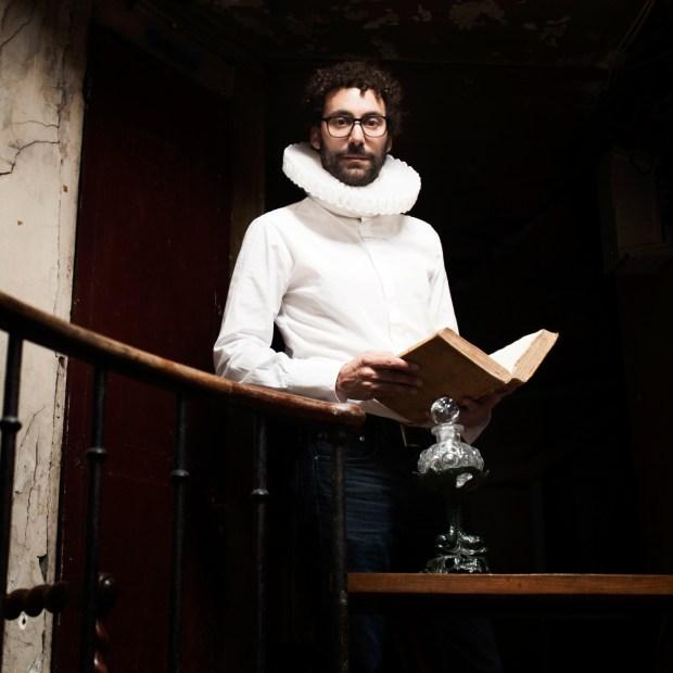 David Wahl dans Le Traité de la boule de cristal © Philippe Savoir