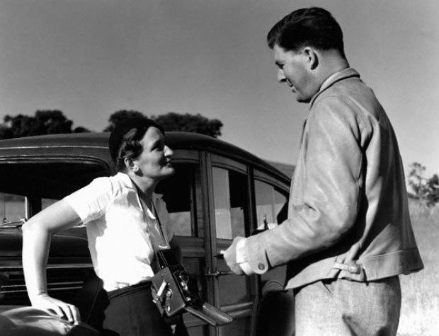 Dorothea Lange et Paul Taylor par Imogen Cunningham