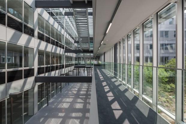 Vue des bureaux (François Leclercq & Associés et Marc Mimram architecte). ©11H45