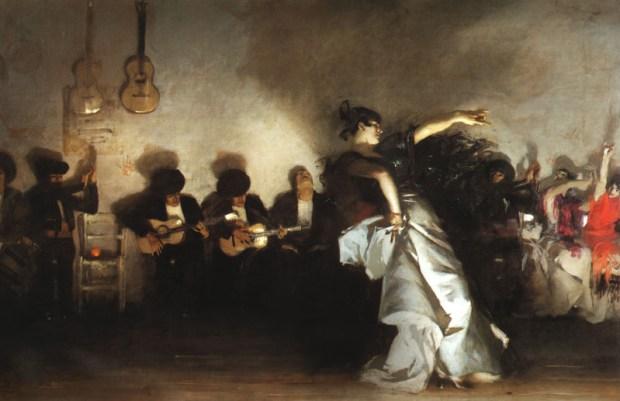 El Jaleo, de John Singer Sargent, 1882