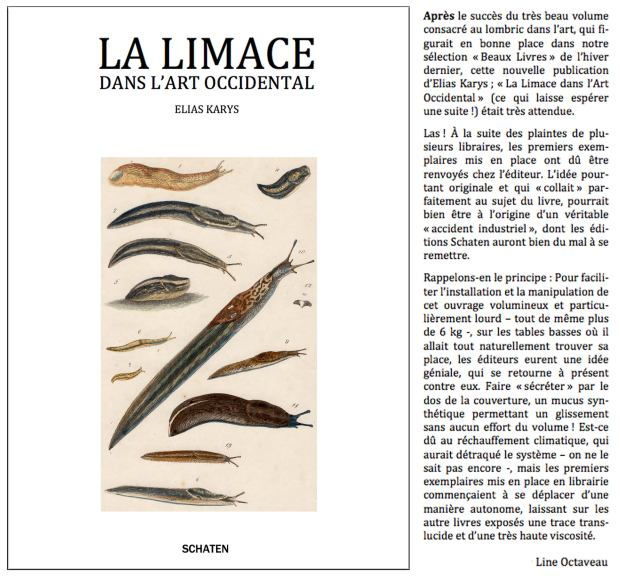 La limace dans l'art occidental