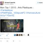 twitter arnaud laporte top 1 dispute france culture fantastique